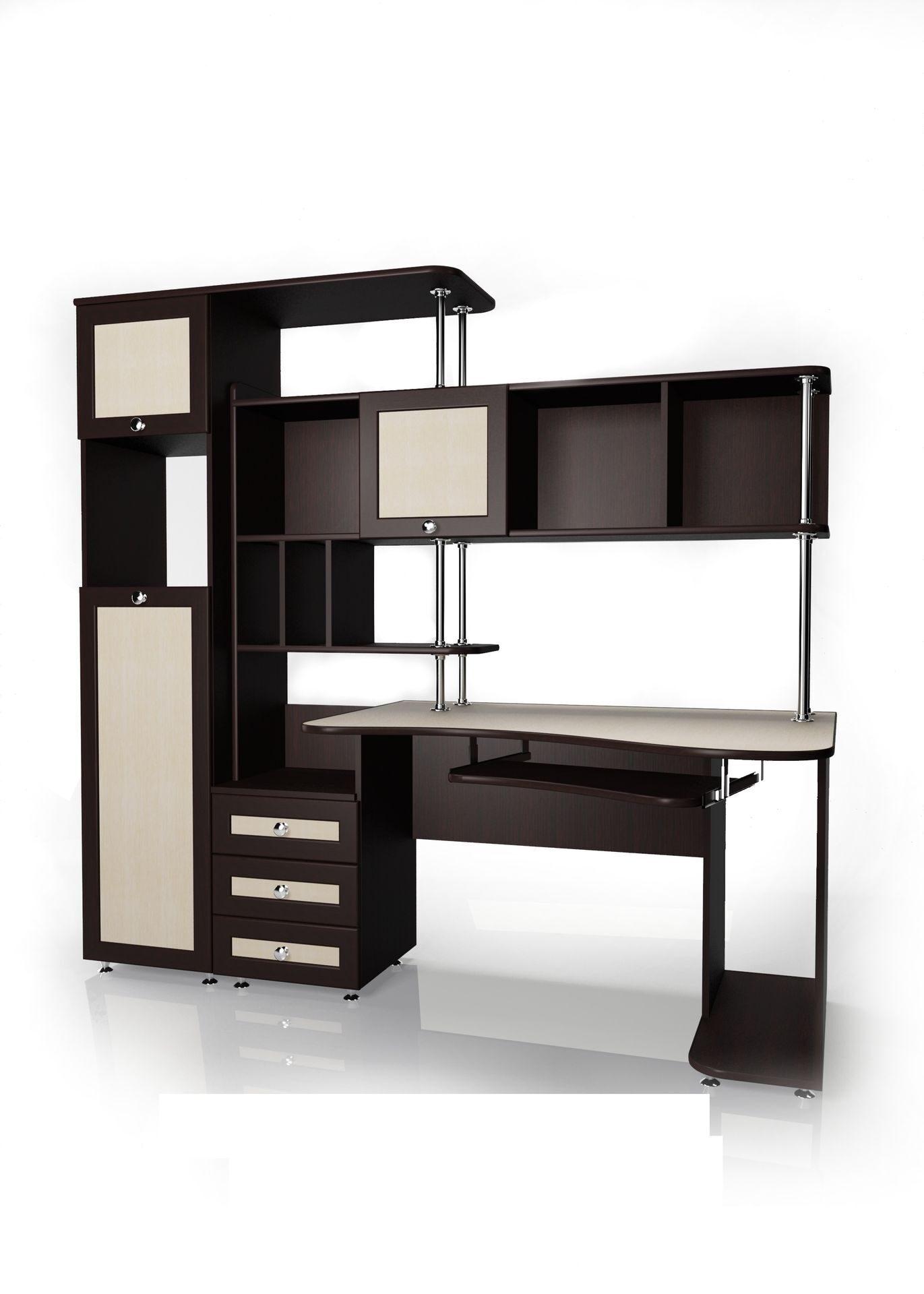 """Компьютерный стол мебелайн """"мебелайн - 17"""" купить в интернет."""