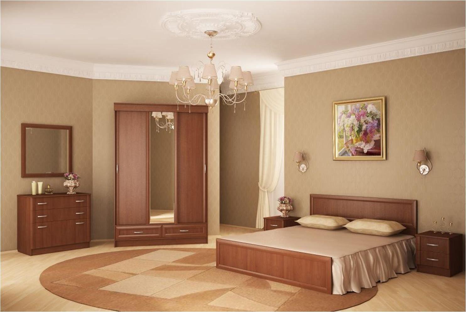 Мебель цвет вишня в интерьере фото