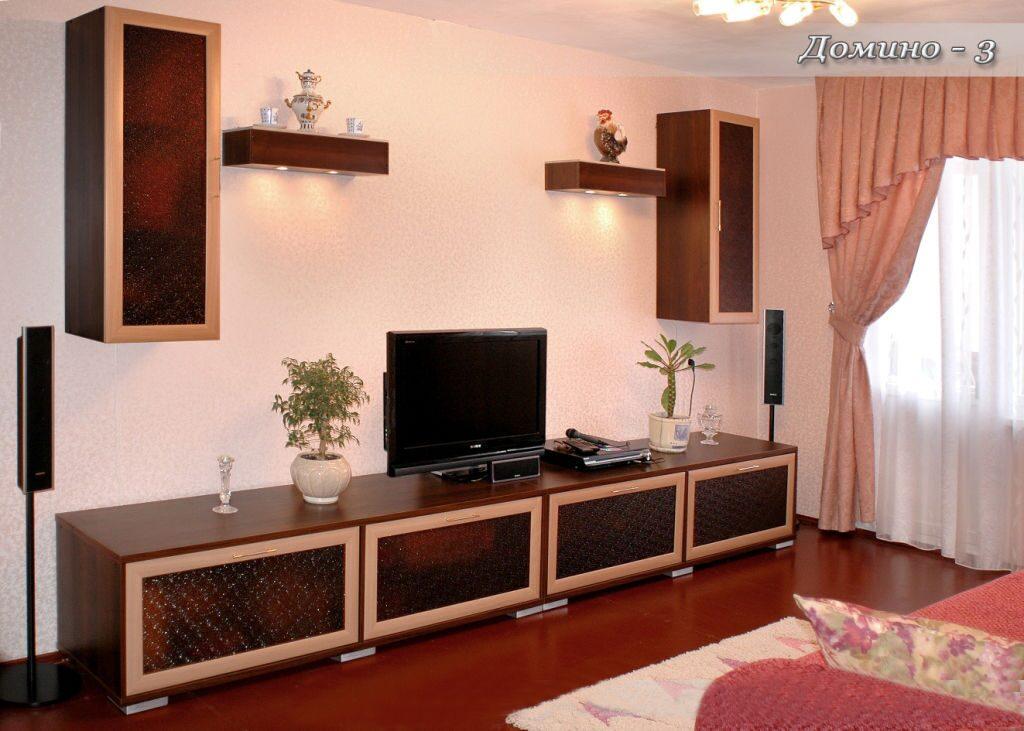 Стенка домино-3 - стенки - абсолют мебель.